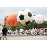 China PVC Football / Basketball Inflatable Helium Balloons For Event 10 Feet Size wholesale