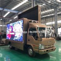 China Mobile Advertising LED Scrolling Billboard Truck 5995×2190×3300mm For Road Show wholesale