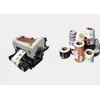 China Personalized Roll Label Printer Eco Solvent Coating For Office Easy Operation wholesale