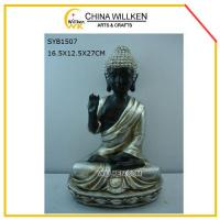 Buy cheap Resin Sitting Buddha for Home Decoration from wholesalers