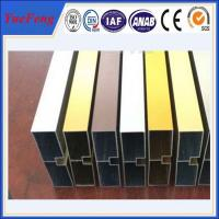 China China factory wholesales colored anodized aluminum channel wholesale