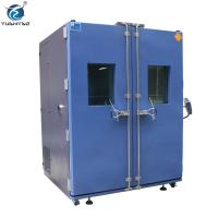 China Double Doors Programmable controller 1000 L climate simulation test constant temp. humi. test chamber wholesale