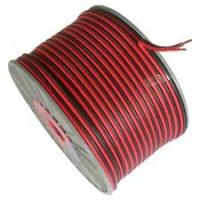 China 100M Roll 2×0.50mm2 Audio Speaker Cable Stranded OFC Conductor Red Black PVC wholesale