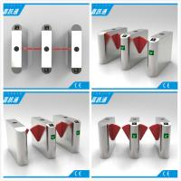 China Facial Reader Access Control Flap Gate Barrier Stainless Steel For Entrance wholesale