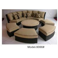 China outdoor sofa furniture rattan modular sofa --9066 wholesale