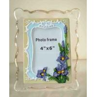 China Clear Wall Mounted Acrylic Photo Frames With Magnet , Simple And Elegant wholesale