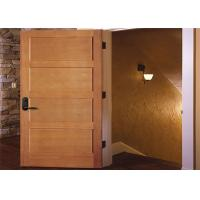 China Customized Inside Solid Wood Doors Swing Open Style Durable Hardware Long Lifespan wholesale