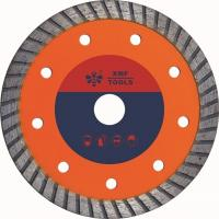 China Hot Pressed Mid Turbo Diamond Saw Blade  Granite Cutting Marble 5 7 Inches wholesale