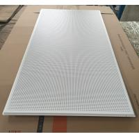 China 595x1195mm Galvanized Steel Acoustic Ceiling Tiles For Shopping Malls wholesale