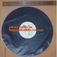 China Biodegradable Resealable Clear Plastic Cd Sleeves album Packaging Bags,CD bag PP bag CD protective film for disk bag pac wholesale