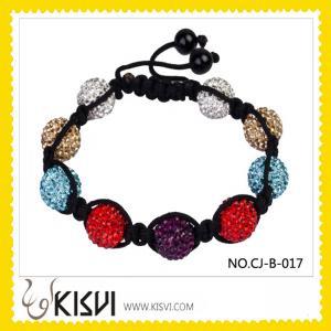 China Fashion Crystal Shamballa Bracelet wholesale
