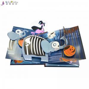 China Hardcover 3d Children'S Pop Up Story Books Custom Printing Glossy Lamination wholesale