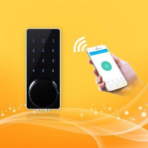 China Keyless Finger Touch Keypad Control Password Door Lock Contactless Unlocking wholesale
