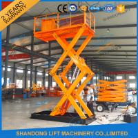 China 2T 4M Hydraulic stairs lift scissor lift platform cheap lift table , material handling lifts wholesale
