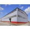 China Anti Rust Warehouse Steel Structure Prefab Metal Buildings Hot Dip Galvanized wholesale