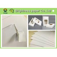 """China White Backing Board Hang Tag Paper Board With 100% Recycled Pulp 31"""" * 43"""" wholesale"""