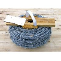 China PVC Coated High Tensile Barbed Wire Q195 For Fence Protective Easy To Install wholesale