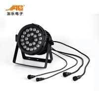 China Energy Efficiency 250W Outdoor LED Par / 24PCS RGBWA +UV Waterproof Par Light wholesale