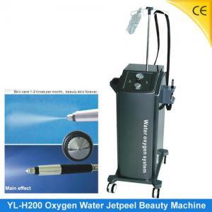 China Water Oxygen Insert Jet Peeling Skin Rejuvenation Machine , Scar Acne Removal H200 wholesale