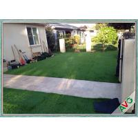 Anti - UV Healthy Natural Looking Artificial Grass Outdoor Carpet For Children