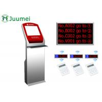 China Digital Signage Queue Ticket Dispenser Machine Led Counter Display wholesale