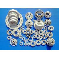 China ZrO2 Ceramic Bearings , Full Ceramic Bearings , Cage Was Made By PTFE,  GFRPA6 , PEEK, PI, AISI SUS304, SUS316, Cu, etc. wholesale