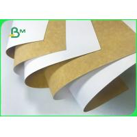 China 100% Safe 250gsm 325gsm 365gsm Coated Kraft Paper Board For Dry Food Packaging wholesale