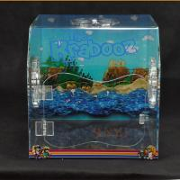 China PET Plastic Display Box Customized With Vivid Pictures / Fan Air Vent wholesale