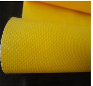 China PVC coated blockout tent tarpaulin/lightproof pvc tarpaulin for awning wholesale