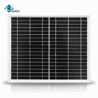 China 18V 20W Solar Panels For Household Use 19.5% High Solar Energy Conversion wholesale