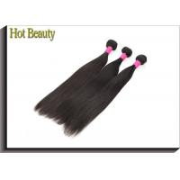 China Grade 7A Virgin Human Hair For Black Girls / Hot Beauty Straight Weaving Hair wholesale