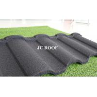 China Wholesale colorful stone coated Alu-Zinc Steel roof tile,bad weather protect stone coated steel roofing tiles wholesale