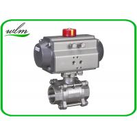 China Complete Encapsulation Sanitary Ball Valves Customized For Special Environments wholesale