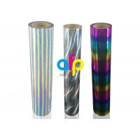 Buy cheap Holographic / Laser Hot Stamping Foil For Fabrics / Fabric from wholesalers