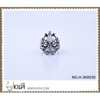 China New Fashion #8 / 10g 316l Stainless Steel Death's - Head Ring H-JK0030 wholesale