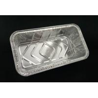 3003 Silver Foil Container , Take Away Food Small Foil Containers FDA Certificate