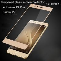 China colorful tempered glass HUAWEI P9  P9 Plus P9P 0.33mm ultrathin Scratch-Resistant Strong hardness 9H Anti-Fingerprint wholesale