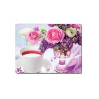 China Decorative Flower PET Printing 3D Lenticular Plastic Table Mats Offset Printing wholesale