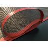 China 4mm High Temperture PTFE teflen Mesh Coated Fiberglass Coveyor Belt 4000 mm wholesale