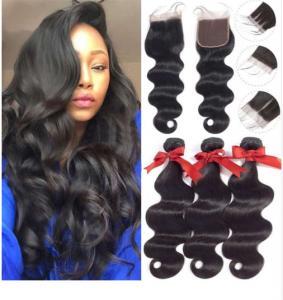 China Healthy Unprocessed 100% Brazilian Virgin Hair / Yetta Hair Body Wave wholesale
