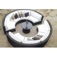 China 7 piece -Outdoor Garden Furniture round shape wicker modular sofa -YS5728 wholesale