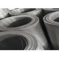 China 24X110 Stainless Steel Woven Wire Mesh , 316 Marine Grade Stainless Steel Mesh wholesale