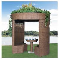 China China leisure furniture outdoor pavilion garden rattan tents 1109 wholesale