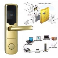 China High Security Software Management System RF Hotel Door Lock Electronic Door Latches wholesale