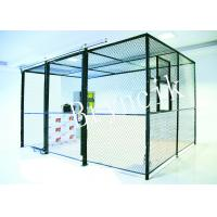 Quality 4 Sides Wire Mesh Security Partitions Data Protect Security With Roof for sale