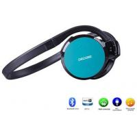 China Sports waterproof wireless Bluetooth Over The Head Headset With Micro SD Card wholesale