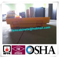 Quality IBC Chemical Spill Containment Trays , 4 IBC Tank Safety Storage Spill Deck And Spill Pallet for sale