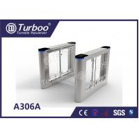 China Waist High Fast Speed Gate Turnstile Biometric Access Control Convenience Settings wholesale