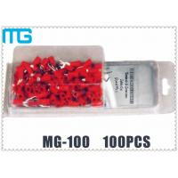 China Colorful Customized Terminal Assortment Kit MG-100 1 / 2 Types SV RV HV Terminals 100pcs wholesale