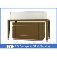 China OEM Jewelry Glass Showcase / Jewellery Display Counter Showcase wholesale